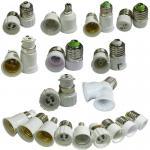 E27 E14 E12 B22 B15 G24 G9 GU10 MR16 Lamp Holder