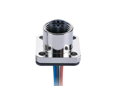 IP67 M12 A-Coding,Soldering Female,Flange Panel mount,  Automation technology